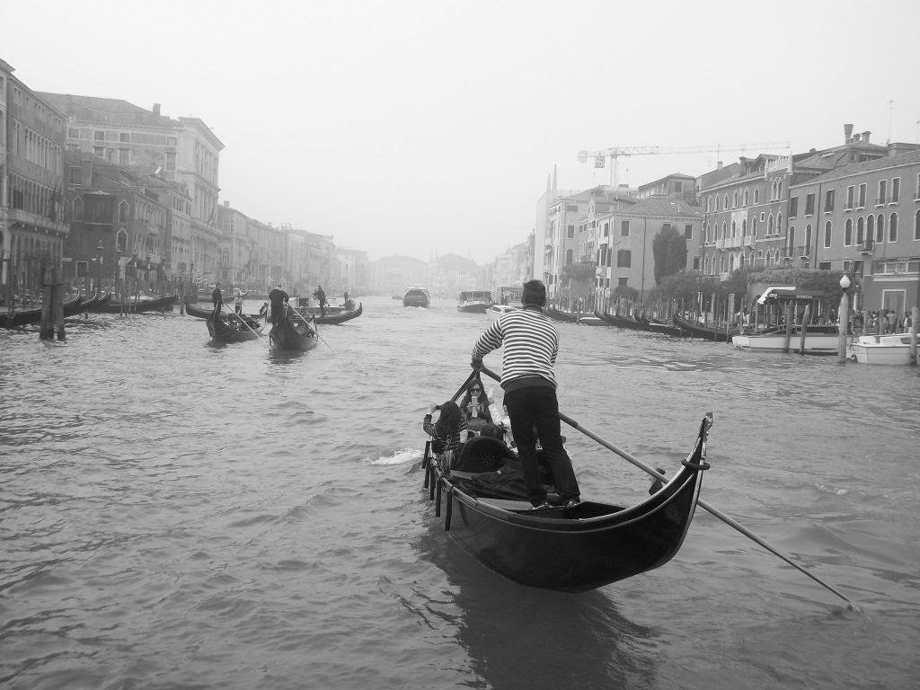 Gran Canal en Venecia