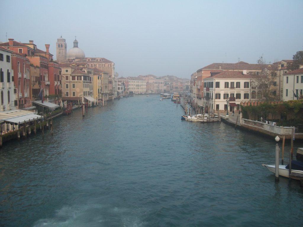 Gran Canal desde el Puente de los Descalzos