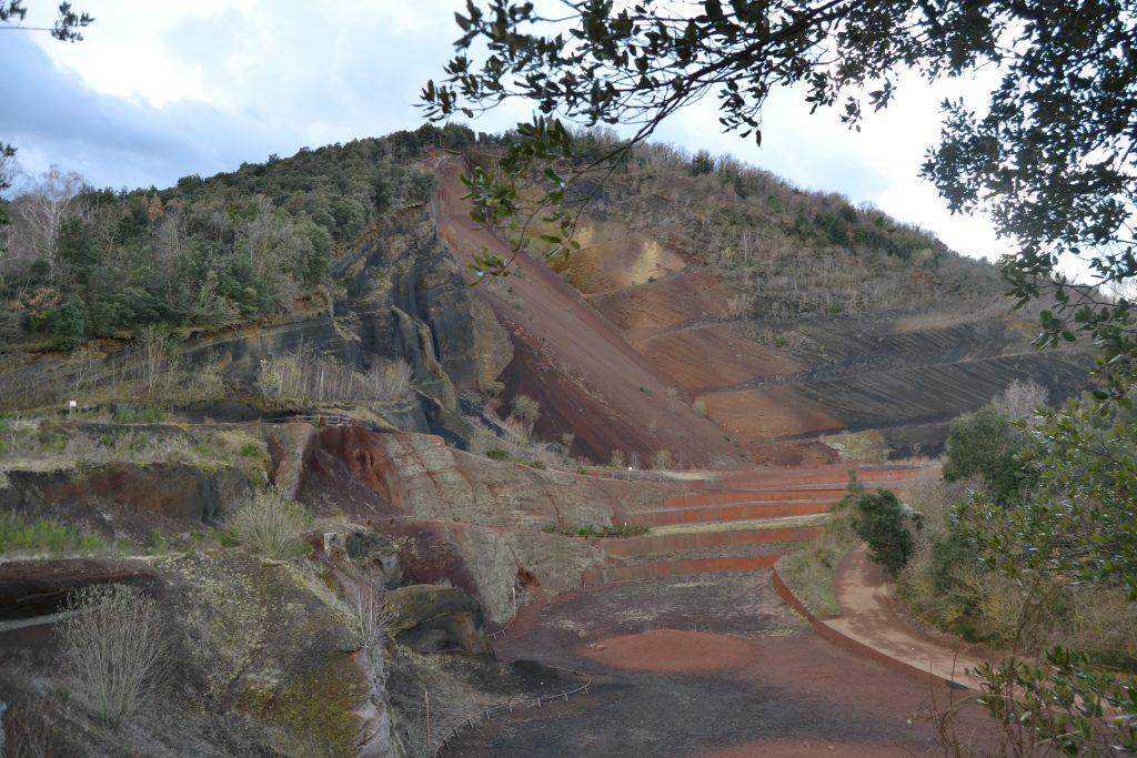 laderas del volcan croscat