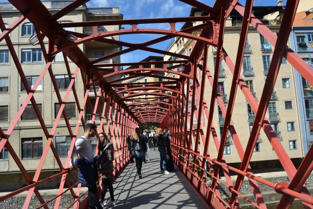 Puente de Eiffel en Gerona