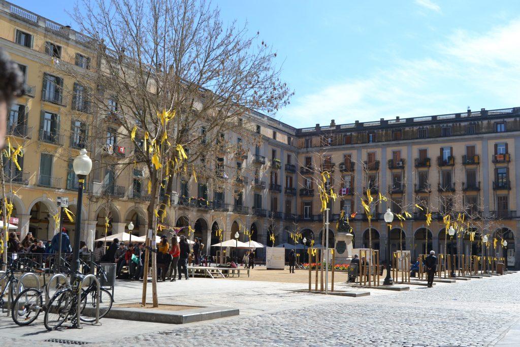 Plaza de la Independencia de gerona