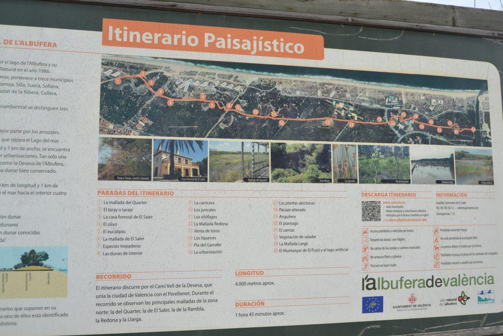 itinerario paisjistico