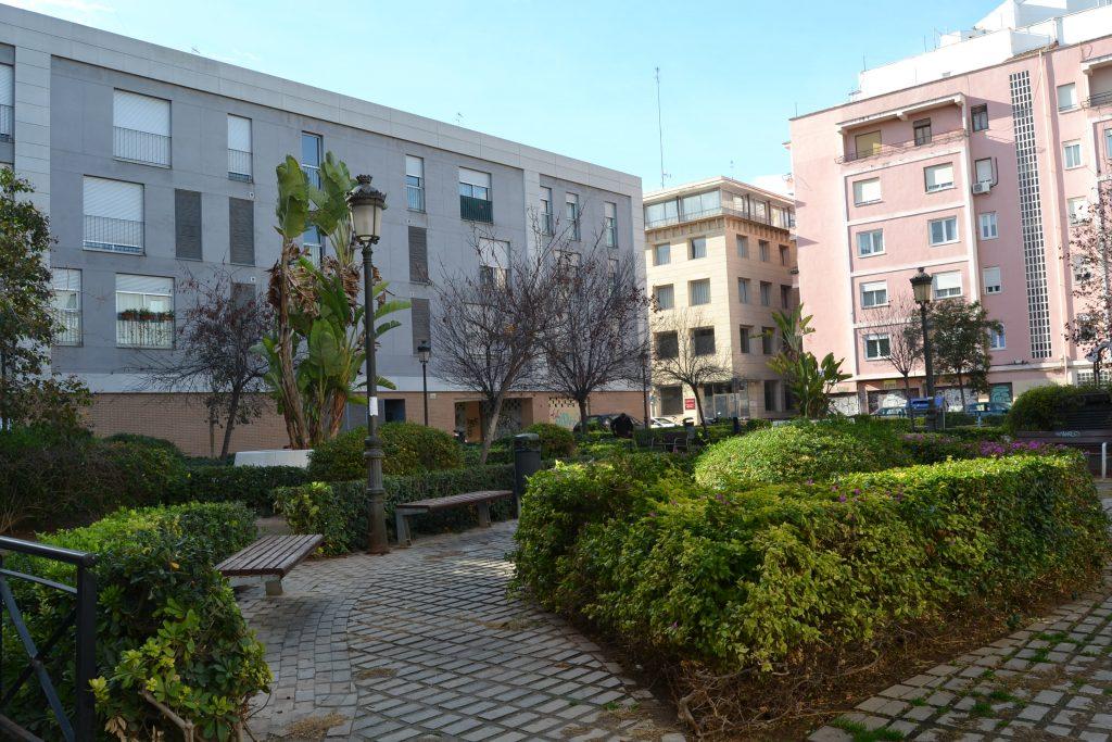 Placita en barrio Velluters en Valencia