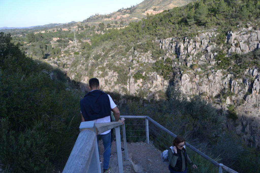 Camino de los Puentes Colgantes