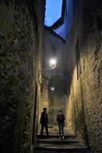 Paseo nocturno por Gerona