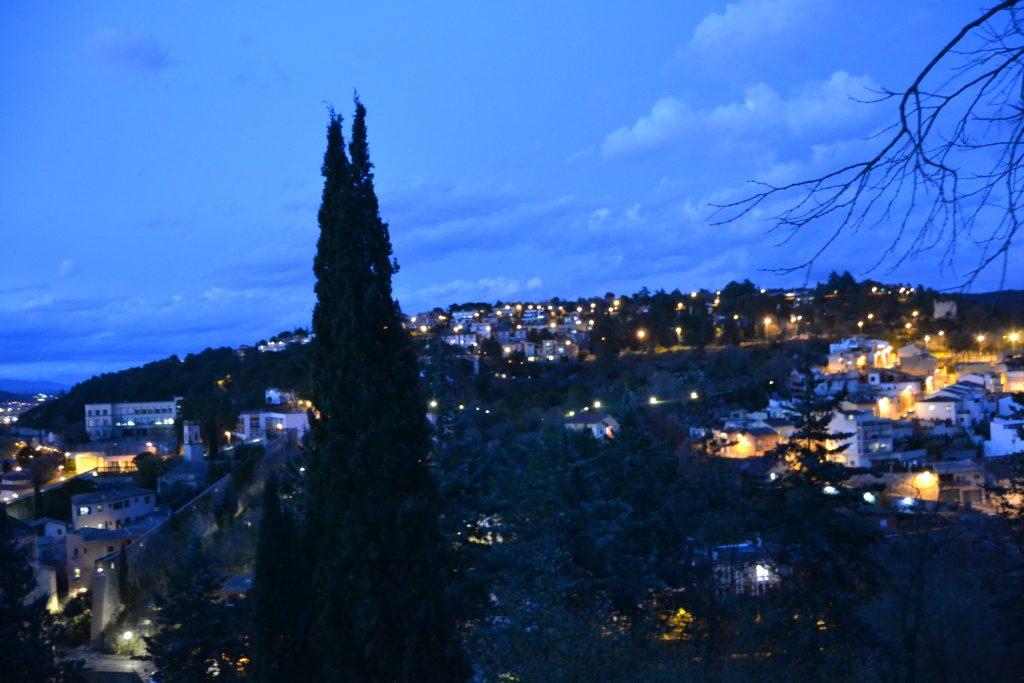 Vista de Gerona desde la Muralla