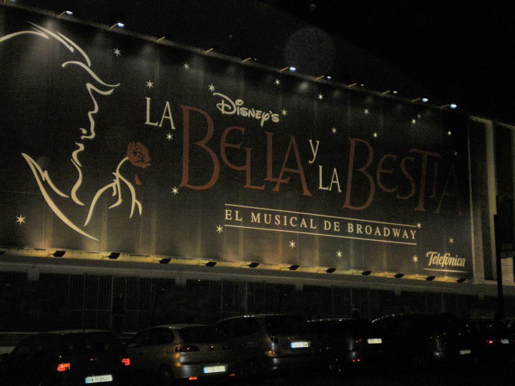 Musical La Bella y la Bestia en Barcelona