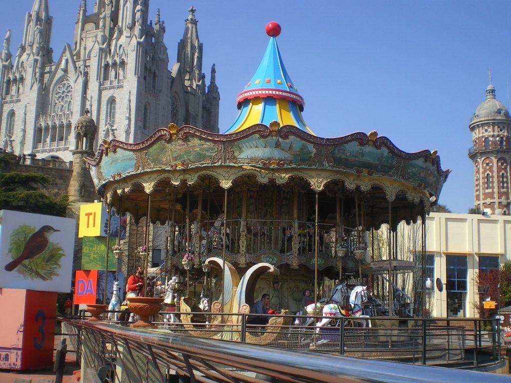 Carrusel en el Tibidabo