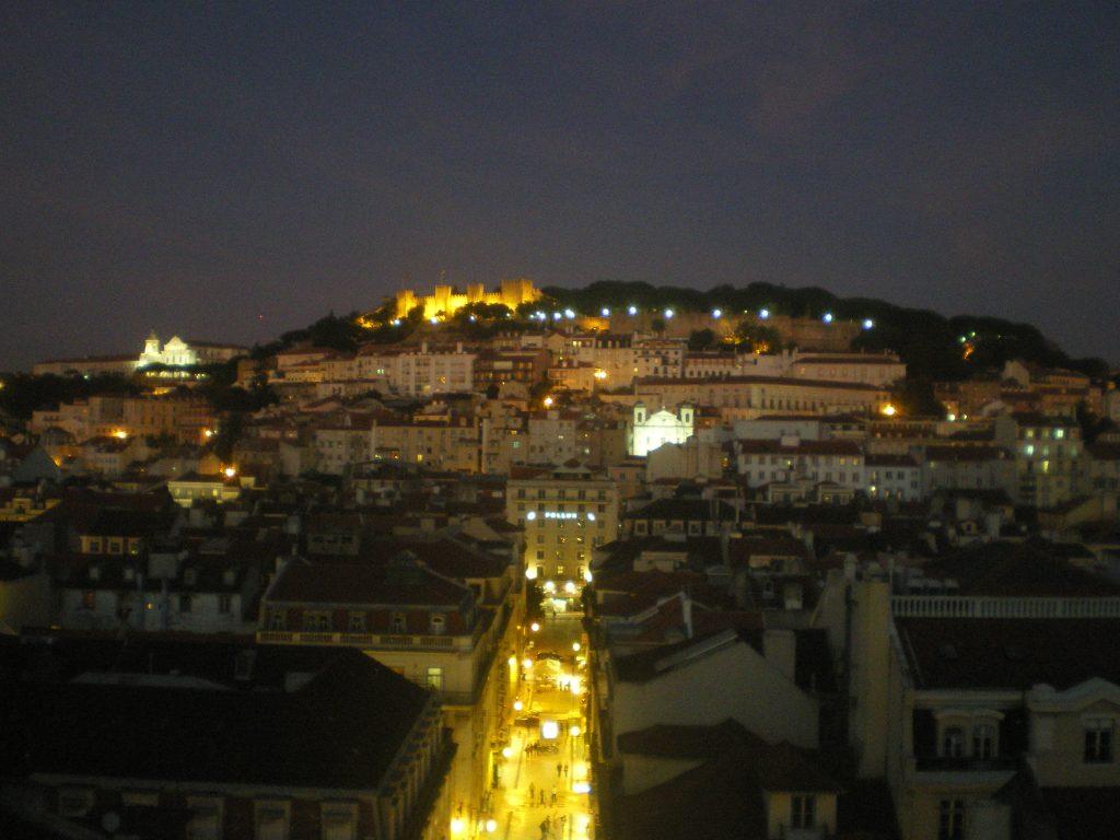 Vistas del Castillo de San Jorge