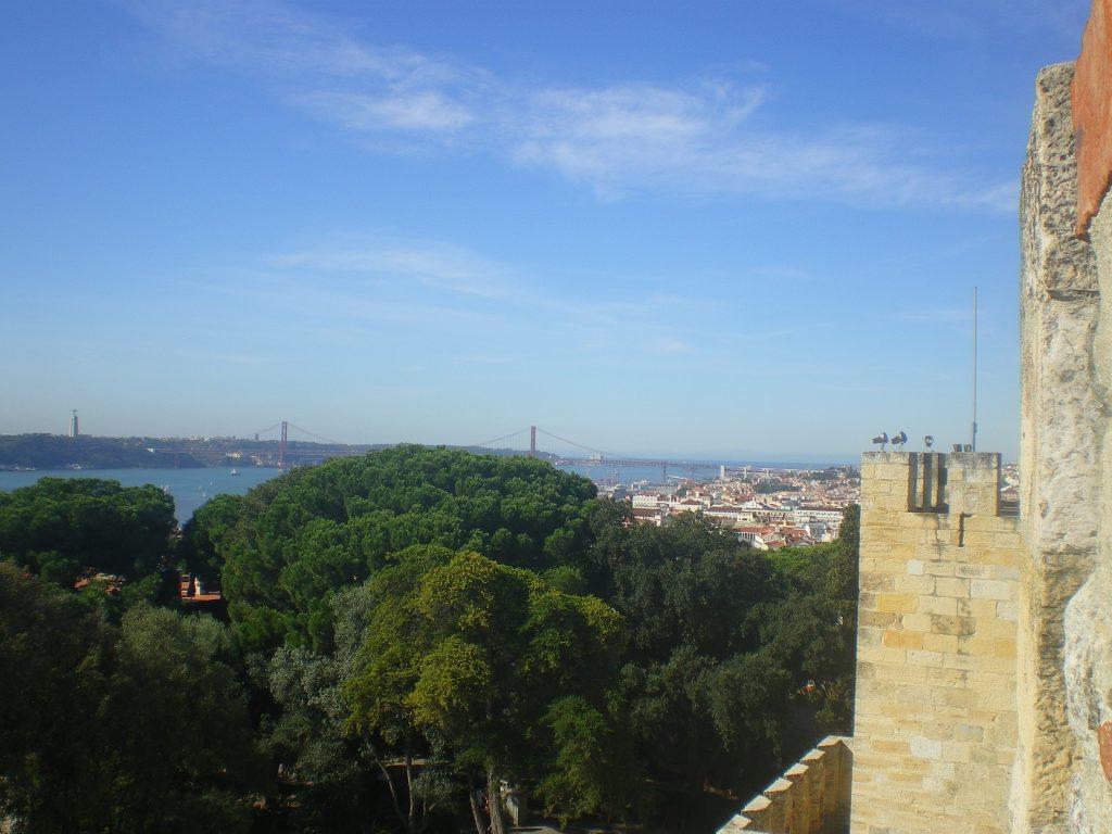 Vistas desde el Castillo de San Jorge