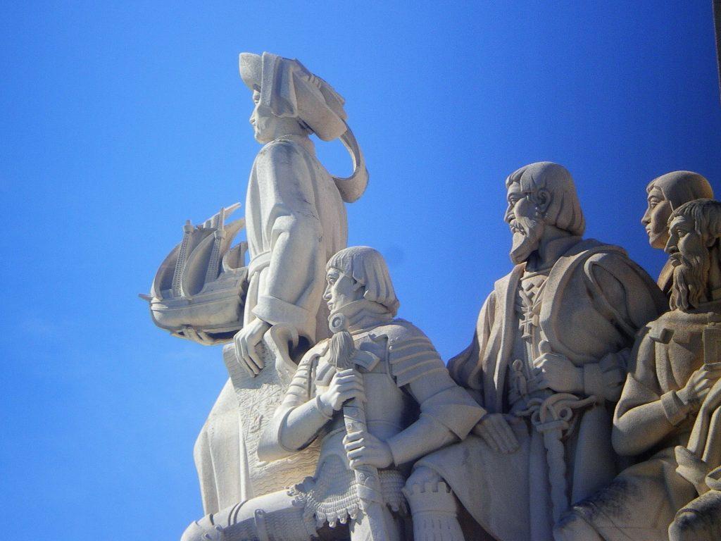 Detalle del Monumento a los Descubrimientos