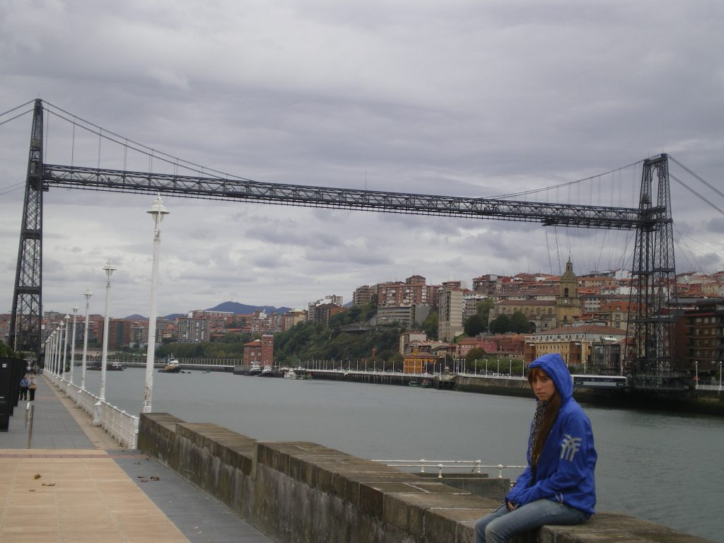 Puente Colgante de Vizcaya en Portugalete
