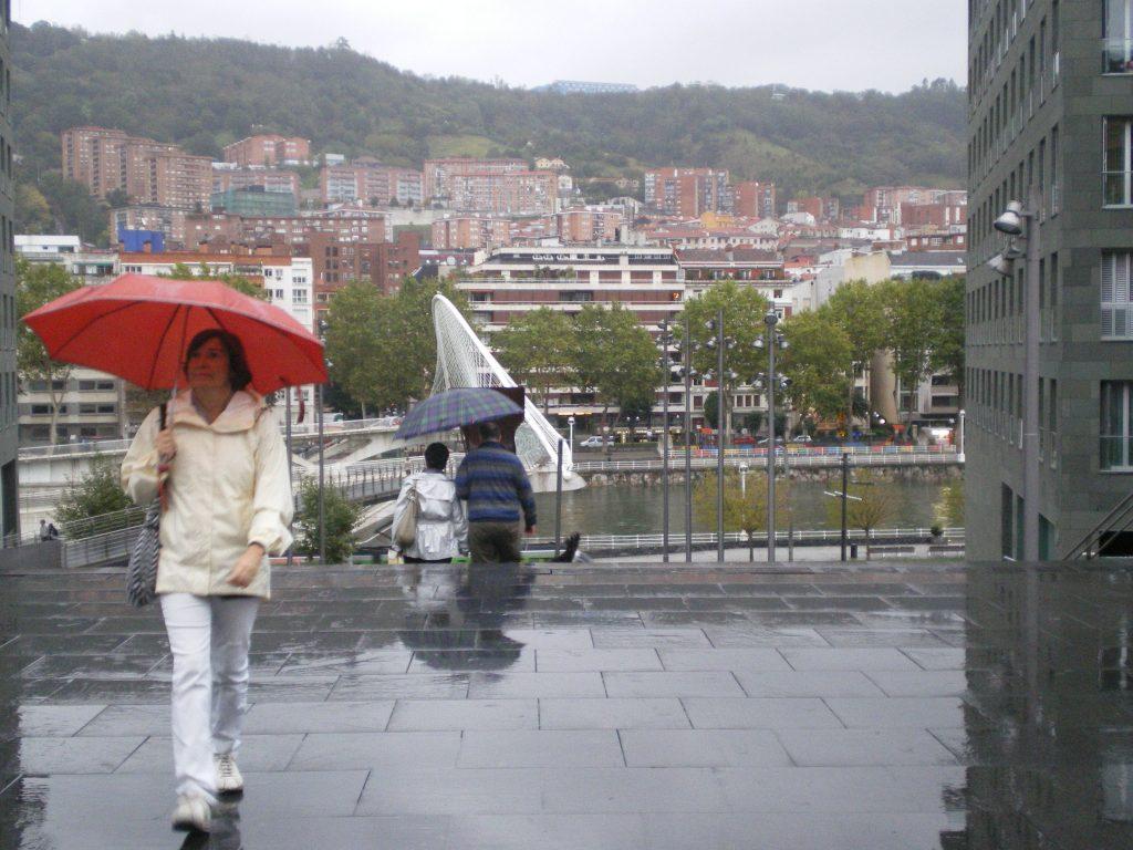 Bilbao lloviendo