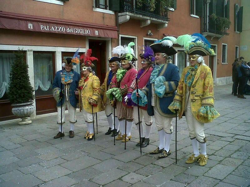 Disfraces del Carnaval en Venecia