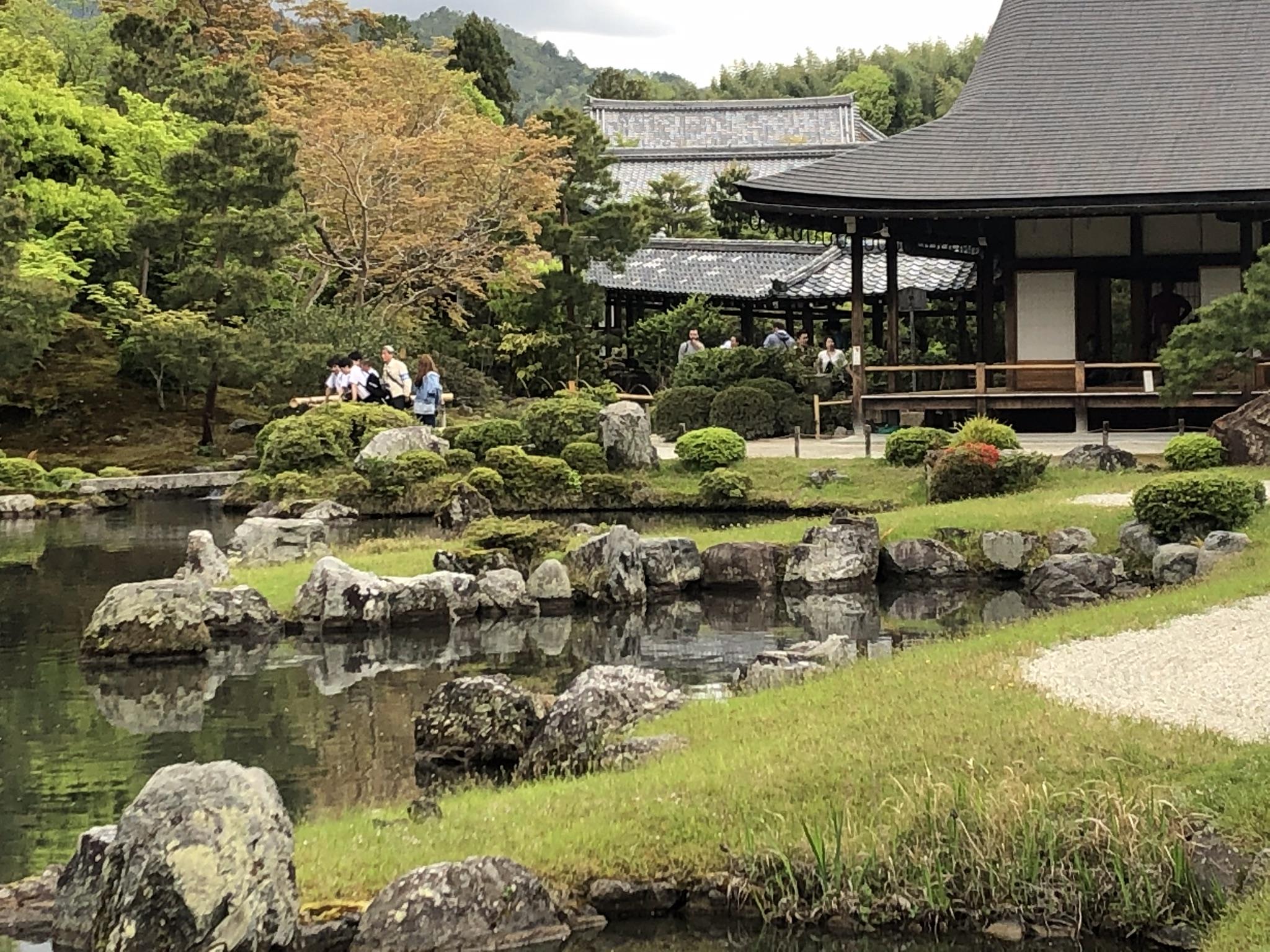 Templo Teryu-ji en Arashiyama