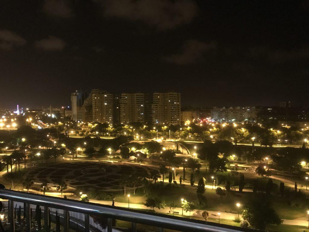Vistas de Valencia desde el Palu de les arts