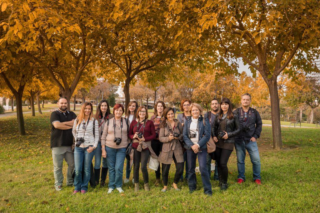 compañeros de curso fotografía